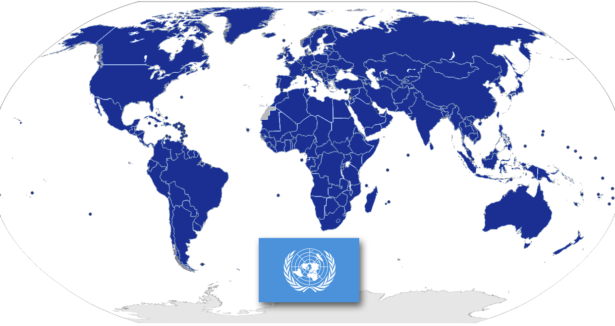 Als Kasachstan Mitglied der UNO wurde