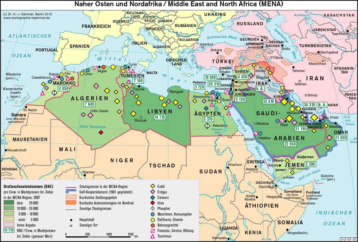 Karte Naher Osten Israel.Naher Osten Varna Friedensforschungsinstitut